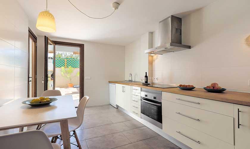 Küche Ferienhaus Cas Concos PM 6541