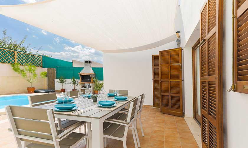 Terrasse Ferienhaus Cas Concos PM 6541