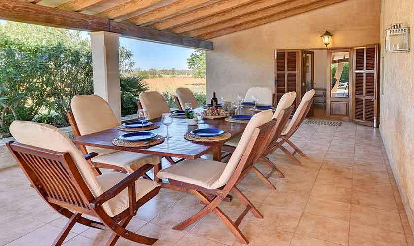 Terrasse Esstisch Finca Mallorca PM 6544