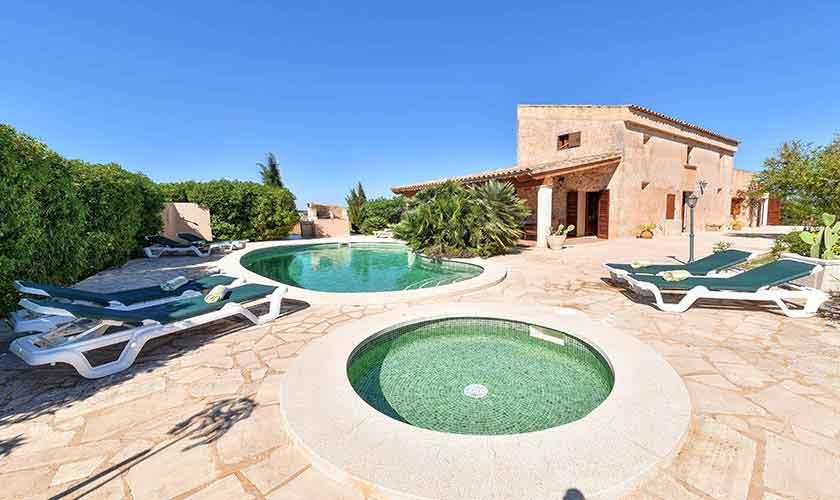 Pool und Kinderpool Finca Mallorca PM 6544