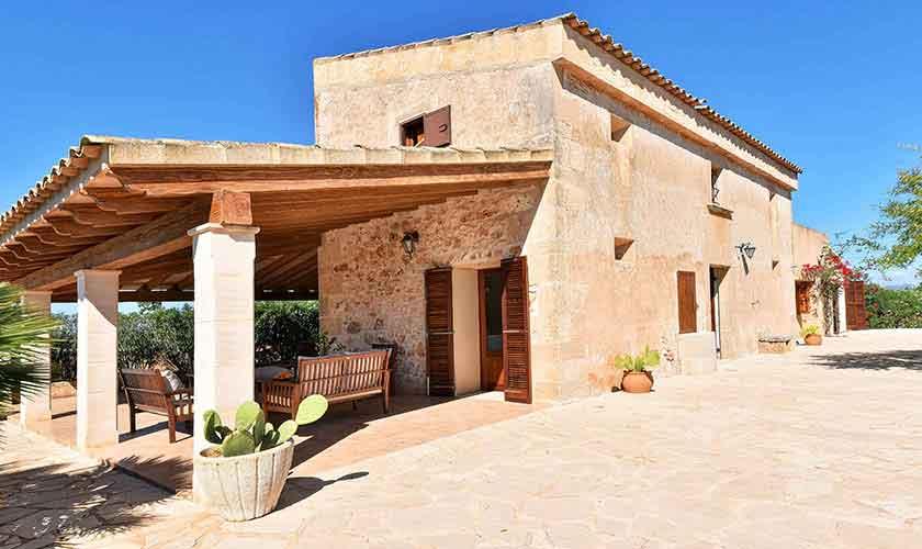 Blick auf die Finca Mallorca PM 6544
