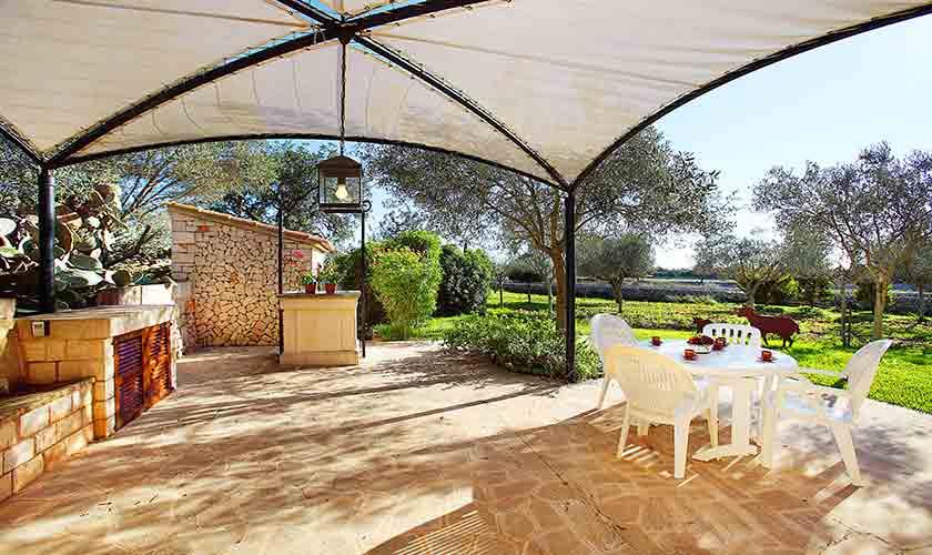 Terrasse Finca Mallorca 2 Personen PM 6545