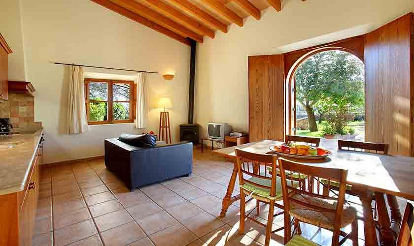 Wohnraum Finca Mallorca 2 Personen PM 6545