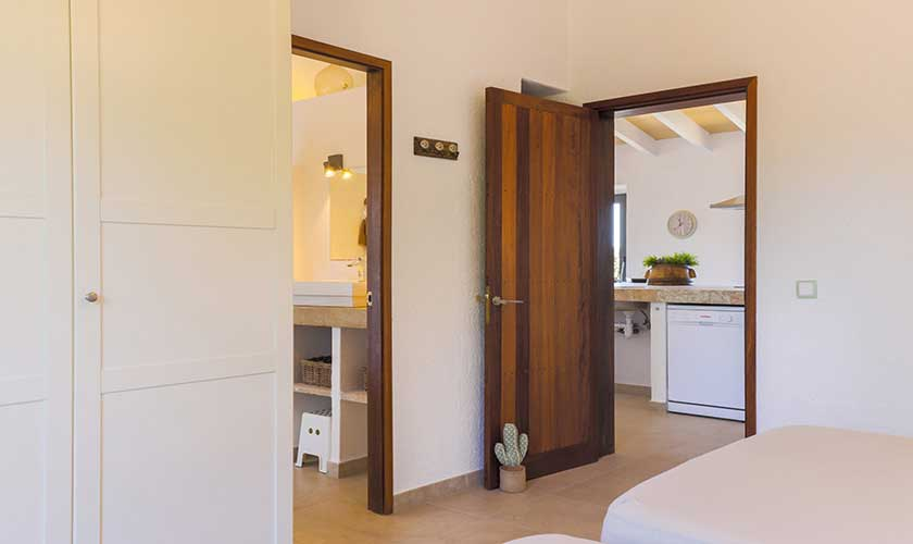 Schlafzimmer Finca Mallorca Süden PM 6545