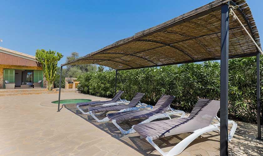 Pergola Finca Mallorca Süden PM 6545