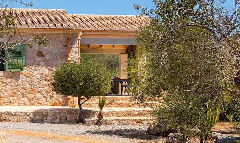 Blick auf die Finca Mallorca Süden PM 6545