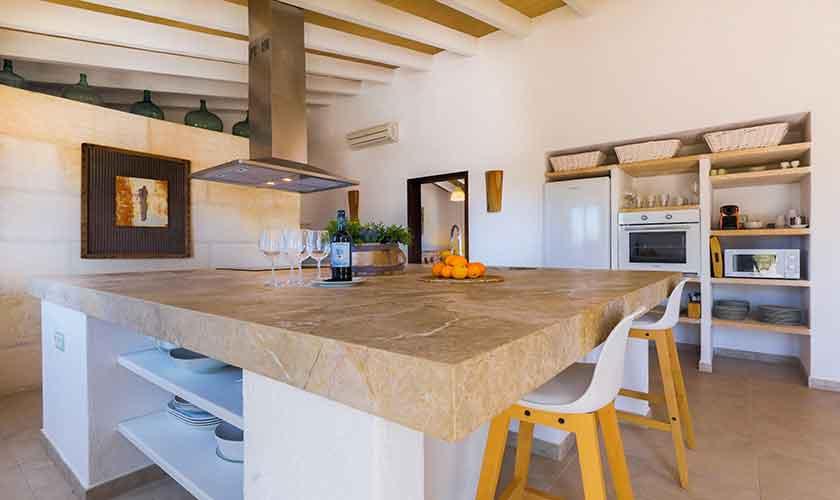 Küche Finca Mallorca Süden PM 6545