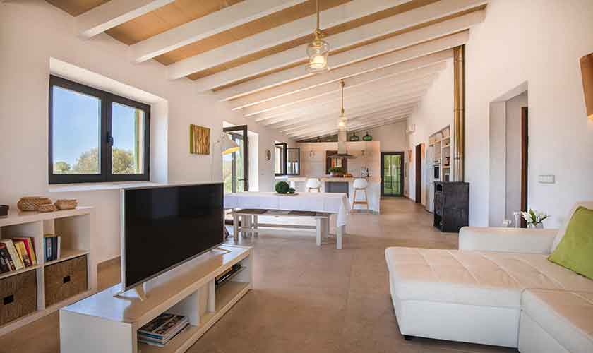 Wohnraum Finca Mallorca Süden PM 6545