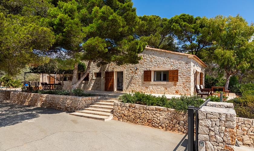 Blick auf das Ferienhaus Mallorca PM 6546