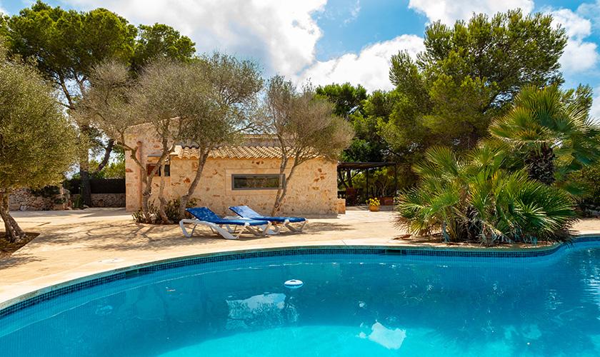 Pool und Ferienhaus Mallorca PM 6546