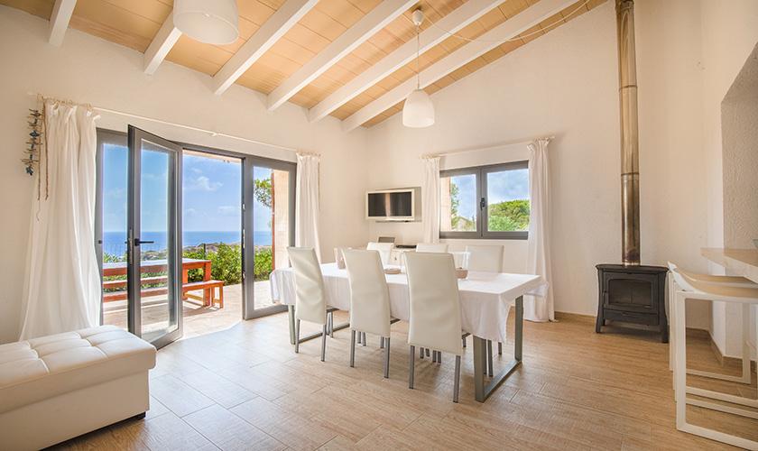 Wohn- und Essbereich Ferienhaus Mallorca PM 6546
