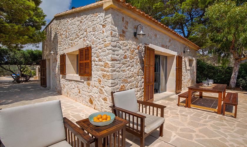 Terrasse Ferienhaus Mallorca PM 6546