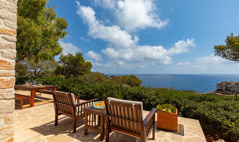 Meerblick Ferienhaus Mallorca PM 6546