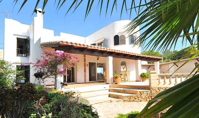 Blick auf das Ferienhaus Mallorca PM 6552