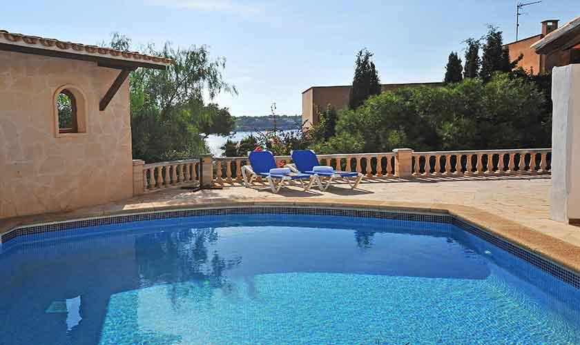 Poolblick Ferienhaus Mallorca PM 6552