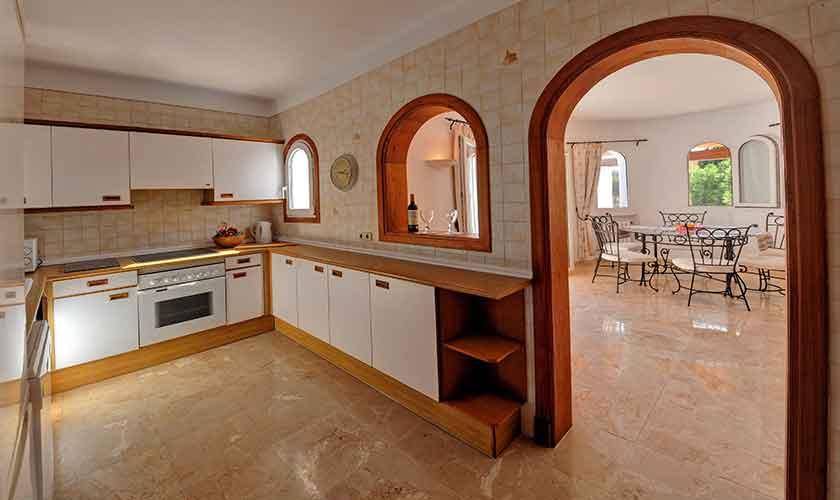 Küche Ferienhaus Mallorca PM 6552