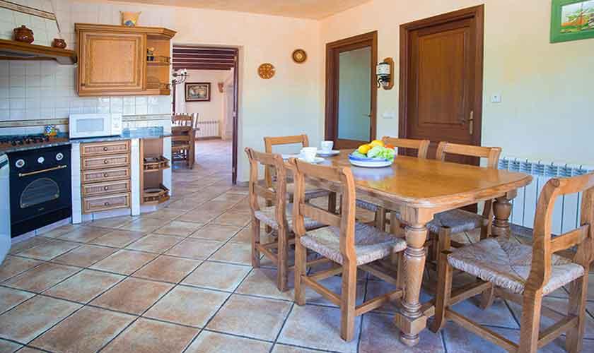 Küche Finca Mallorca 10 Personen PM 6553