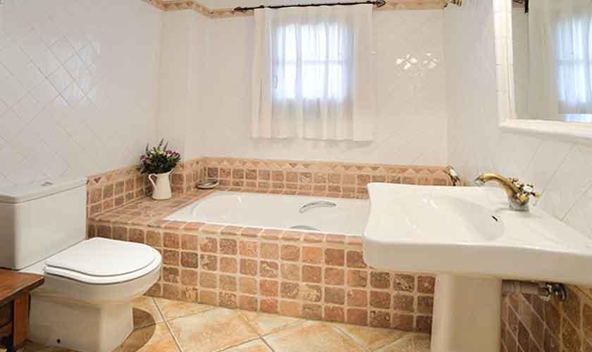 Badezimmer Finca Mallorca 10 Personen PM 6553