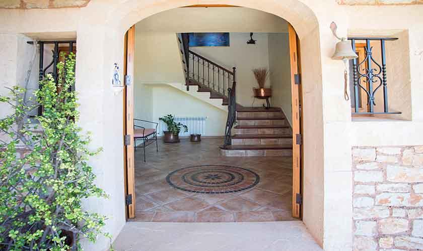 Eingang Finca Mallorca 10 Personen PM 6553