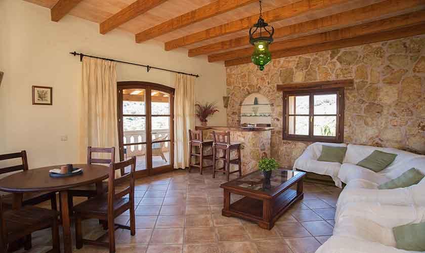 Wohnraum Finca Mallorca 10 Personen PM 6553