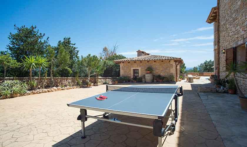 Tischtennis Finca Mallorca 10 Personen PM 6553
