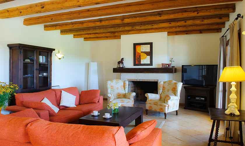 Wohnraum  Finca Mallorca PM 6555