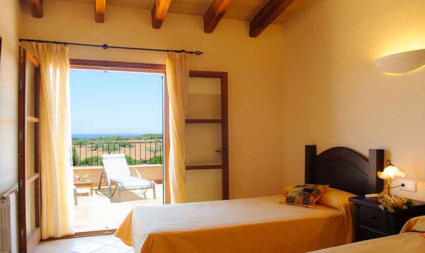 Schlafzimmer Finca Mallorca PM 6555