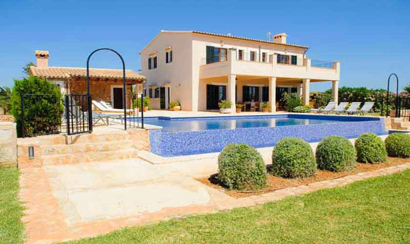 Pool und Garten Finca Mallorca PM 6555