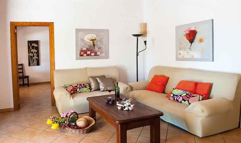 Wohnraum Finca Mallorca 10 Personen PM 6556
