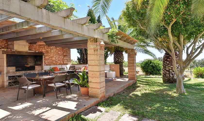 Terrasse Finca Mallorca 10 Personen PM 6556