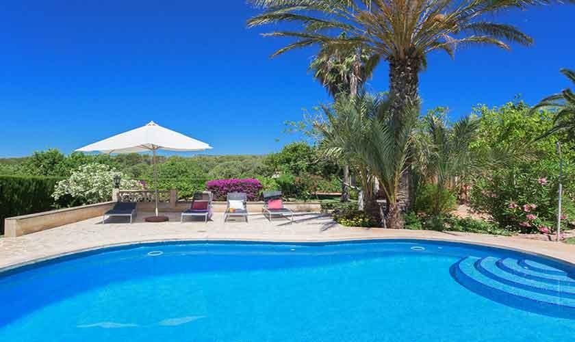 Poolblick Finca Mallorca 8 Personen PM 6558