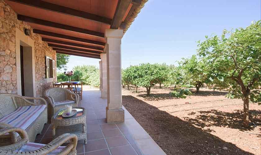 Terrasse Finca Mallorca 8 Personen PM 6558
