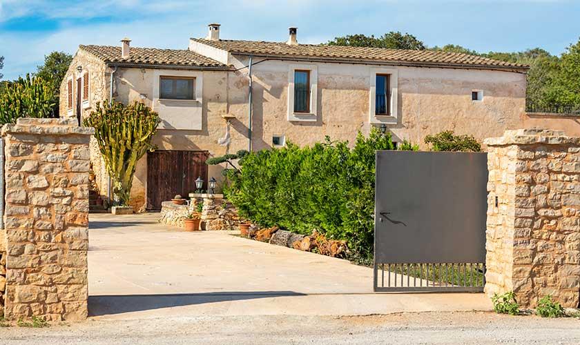 Eingangstor Finca Mallorca PM 6559