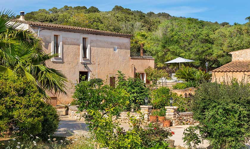 Blick auf die Finca Mallorca PM 6559