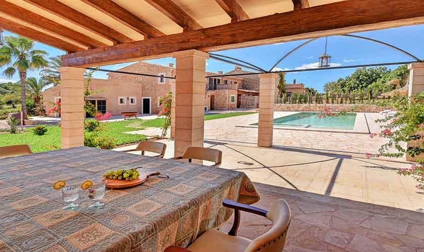 Terrasse und Finca Mallorca 12 Personen PM 6560