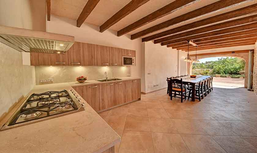 Küche Finca Mallorca 12 Personen PM 6560