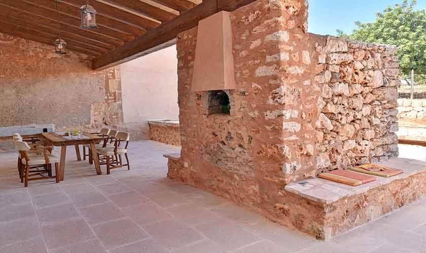 Terrasse Finca Mallorca 12 Personen PM 6560