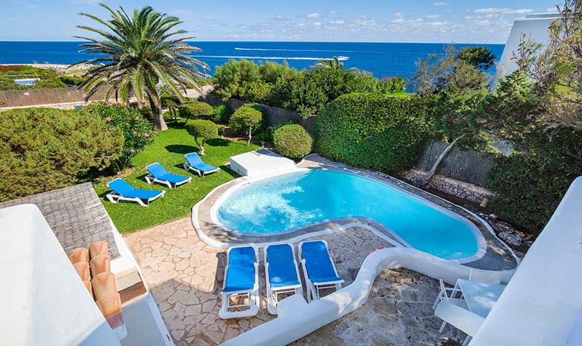 Pool und Ferienvilla Mallorca Cala d´Or PM 6569