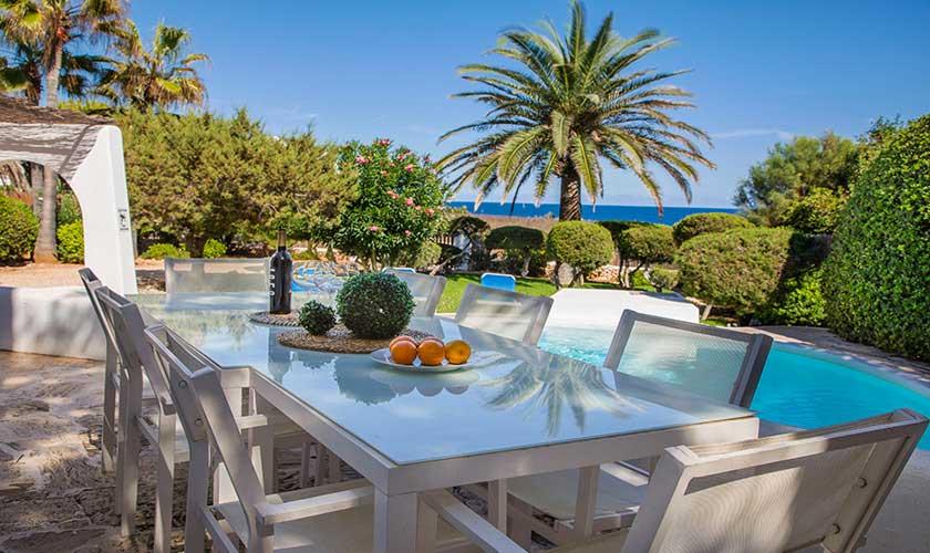 Esstisch Ferienvilla Mallorca Cala d´Or PM 6569