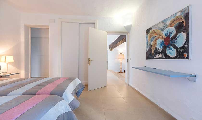 Schlafzimmer Ferienvilla Mallorca Cala d´Or PM 6569