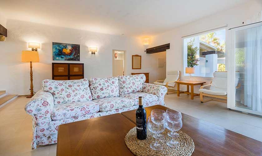 Wohnraum Ferienvilla Mallorca Cala d´Or PM 6569