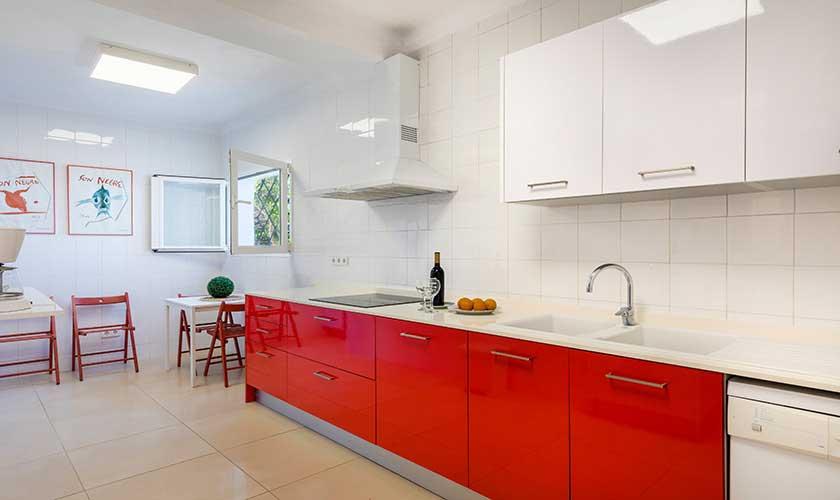 Küche Ferienvilla Mallorca Cala d´Or PM 6569