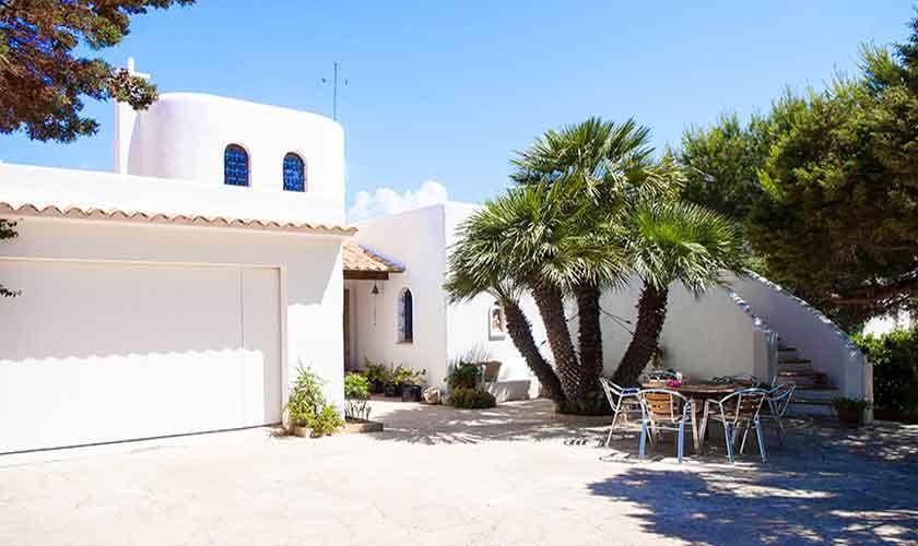 Blick auf die Ferienvilla Mallorca PM 6574