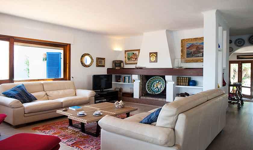 Wohnraum Ferienvilla Mallorca PM 6574