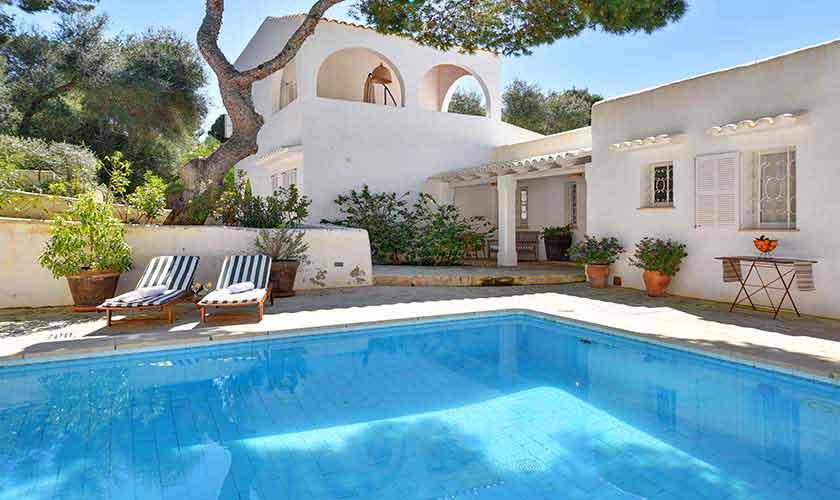 Pool und Ferienvilla Mallorca PM 6597