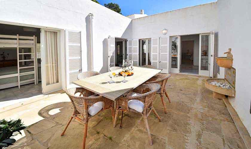 Terrasse Ferienhaus Mallorca PM 6597