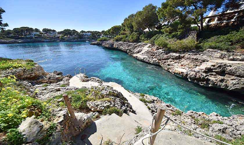 Meereszugang Ferienvilla Mallorca PM 6597