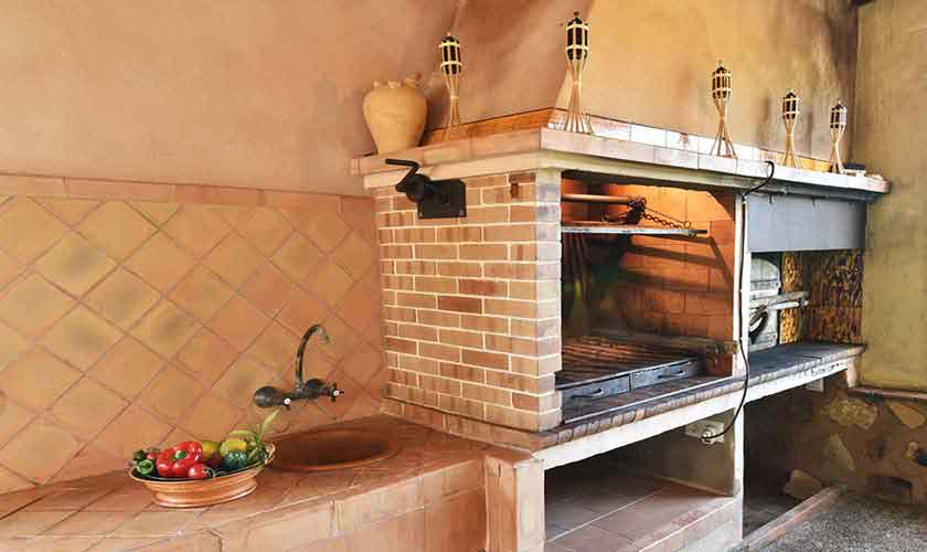Barbecue Finca Mallorca Pool 6 Personen PM 6598