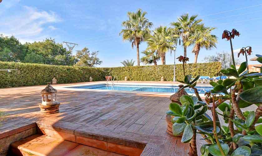 Pool der Finca Mallorca 6 Personen PM 6598