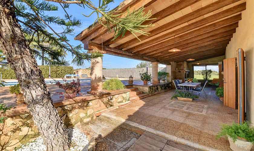 Terrasse Finca Mallorca Pool 6 Personen PM 6598